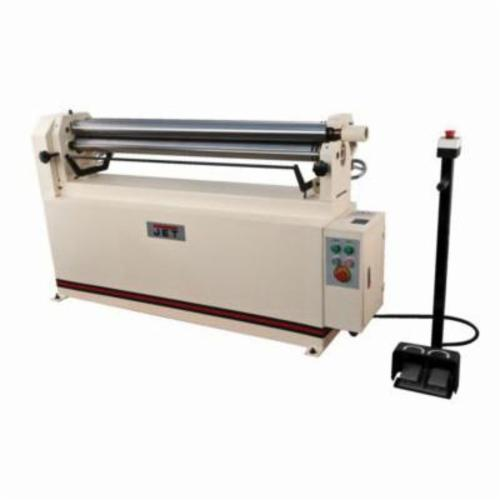 JET® 756027 Electric Slip Roll, 50 in Max Forming Width, 2 in Min Forming Radius, 16 ga Mild Steel, 3 Wire Grooves, 3 in Dia Slip Roll