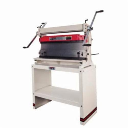 JET® 756031 3-in-1 Combination Shear Break and Roll, 1-1/2 in Dia Slip Roll, 30 in W Cutting, 20 ga Mild Steel