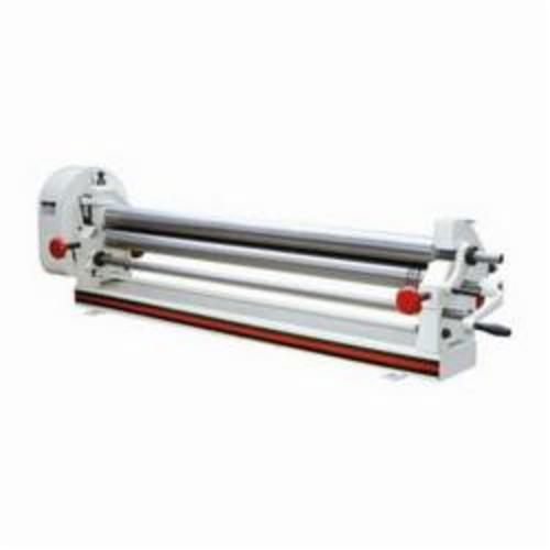 JET® 756050 Slip Roll, 50 in Max Forming Width, 2 in Min Forming Radius, 16 ga Mild Steel, 3 Wire Grooves, 3 in Dia Slip Roll, Bench Mount
