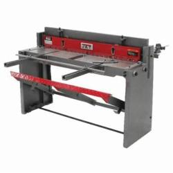 JET® 756202 Foot Shear, 52 in L Cutting, 16 ga Mild Steel/14 ga Aluminum and Copper Alloys/20 ga Stainless Steel Capacity, 52 in L Blade, Manual Power