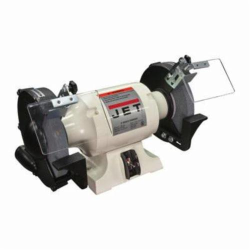 BLACK FRIDAY PRICING - JET® JBG-6A Shop Bench Grinder, 6 in Dia x 3/4 in W Wheel, 1/2 in, 3450 rpm, 1 hp