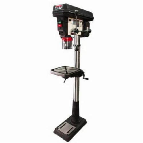 JET® JDP-20MF, 1.5 hp, 115/230 VAC, 3/4 in Chuck, 20 in Swing, 18-1/2 in L x 16 in W Table