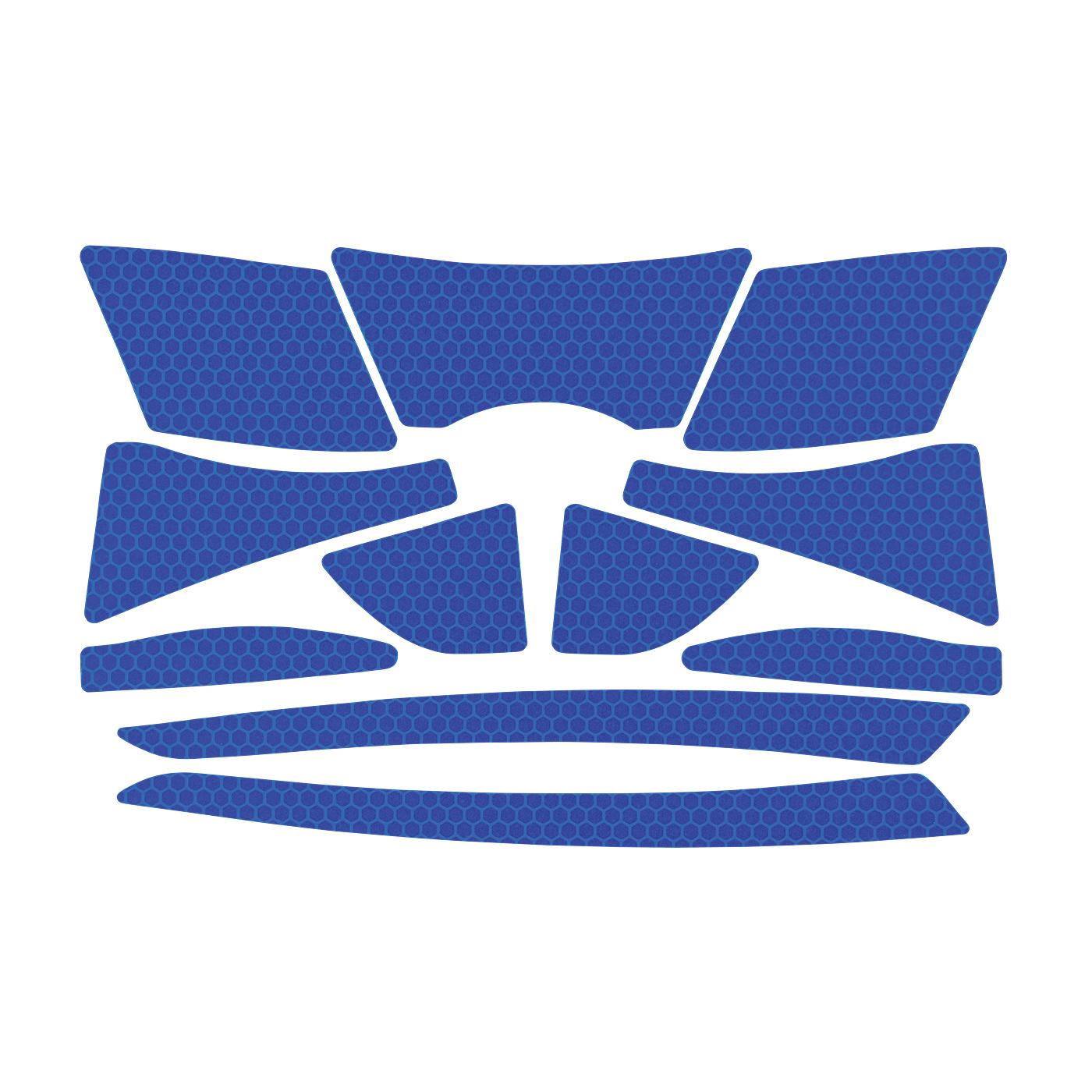 JSP® 281-CR2-10-BL Reflective Kit, Blue