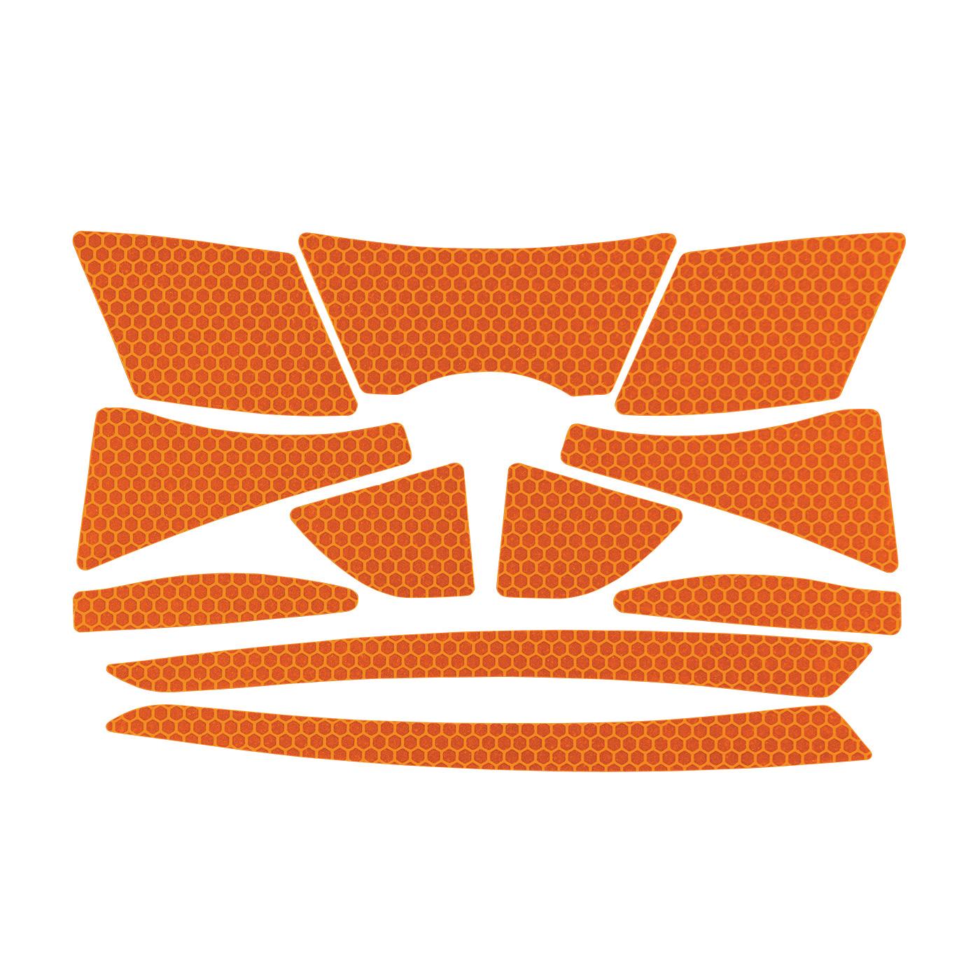 JSP® 281-CR2-10-OR Reflective Kit, Orange