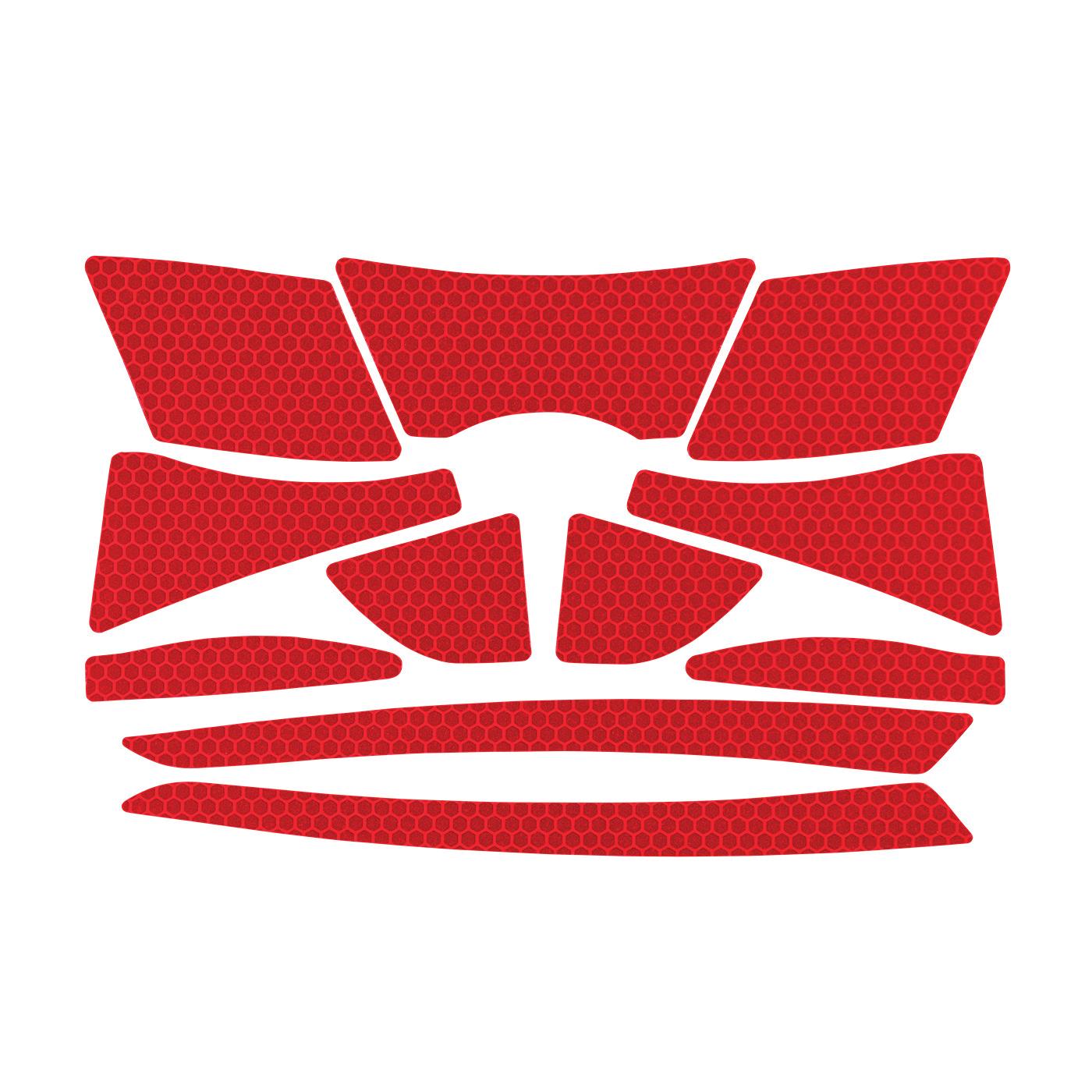 JSP® 281-CR2-10-RE Reflective Kit, Red