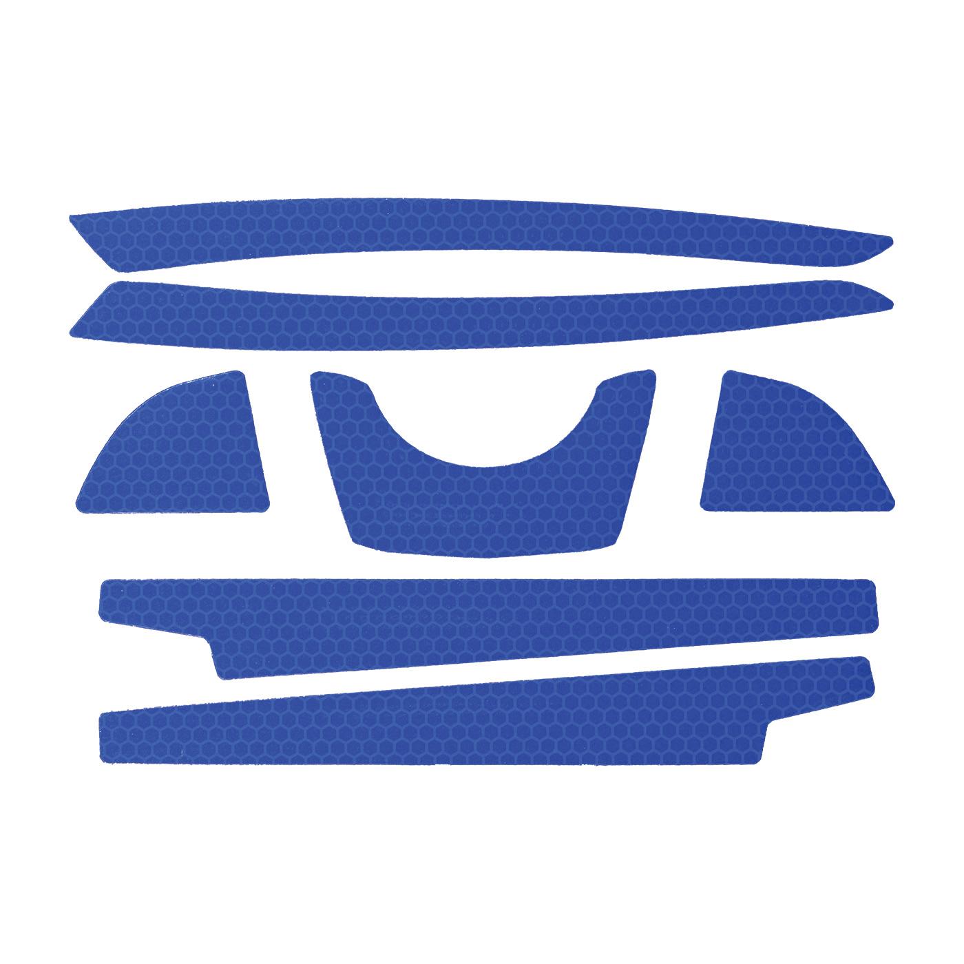 JSP® 281-CR2FB-10-BL Reflective Kit, Blue