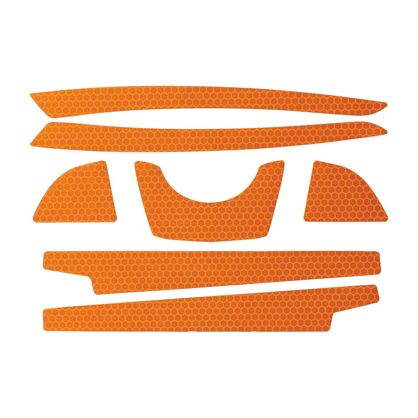 JSP® 281-CR2FB-10-OR Reflective Kit, Orange