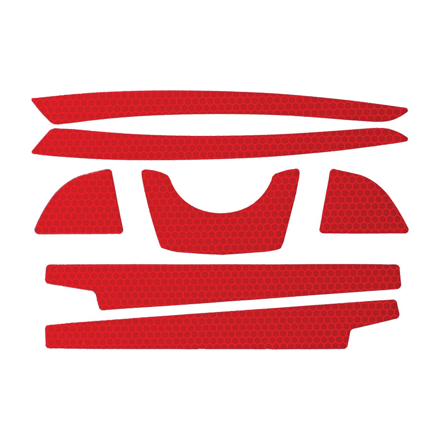 JSP® 281-CR2FB-10-RE Reflective Kit, Red