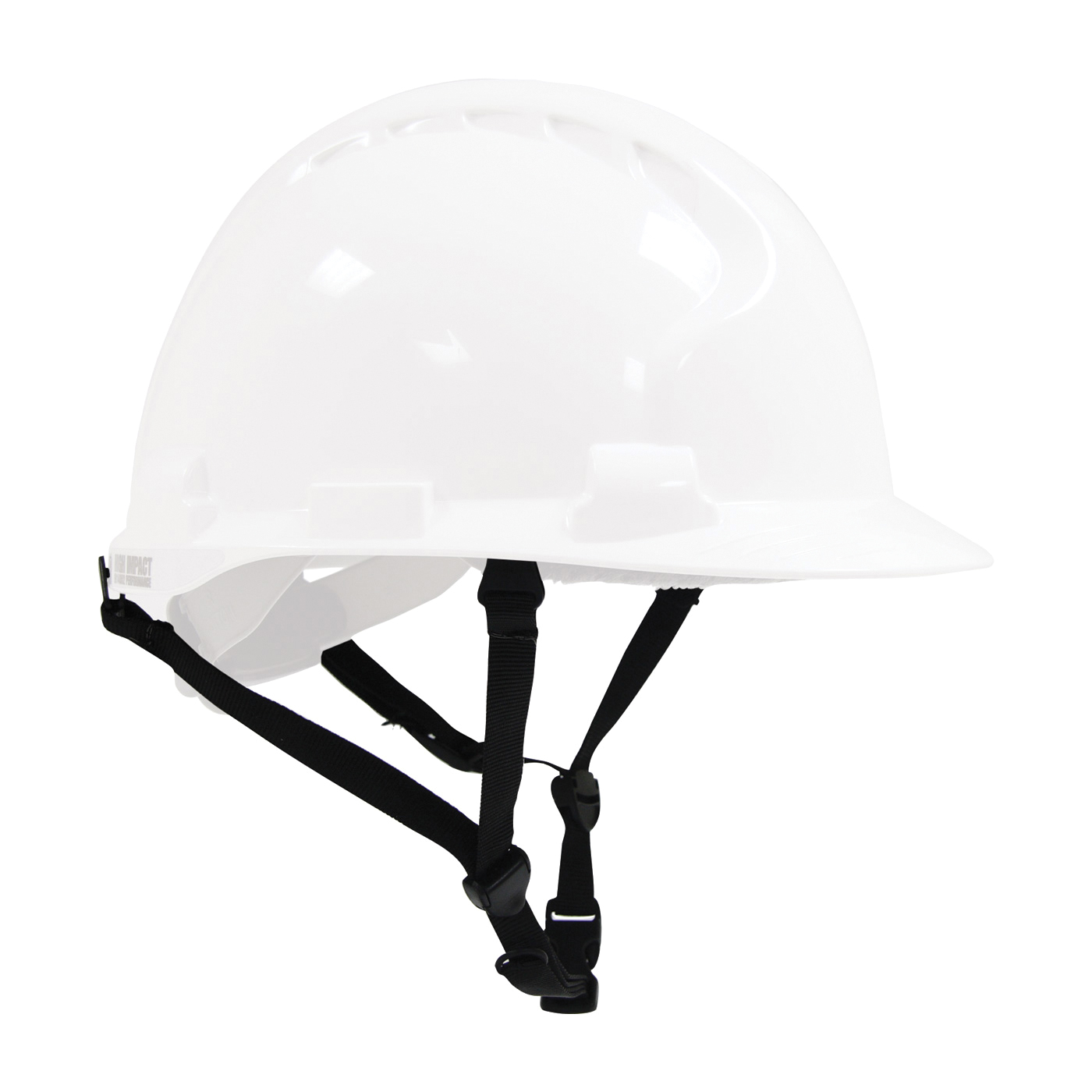 JSP® 281-CS-4PT 4-Point Standard Chin Strap With (4) Clips, 4 Mounting Points, Black, For Use With JSP® Evolution® 6100 Hard Hats