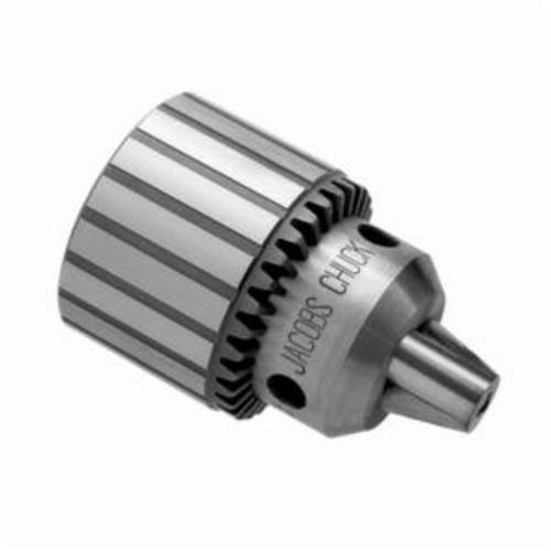 Jacobs® 6200 0 Series Medium Duty Drill Chuck, 0.0135 to 0.156 in Capacity, #0 JT Mounting, Plain Bearing, K0
