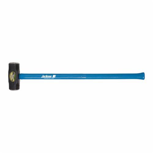 Jackson® 1197600 Sledge Hammer, 36 in OAL, 6 lb Forged Steel Head, Fiberglass Handle