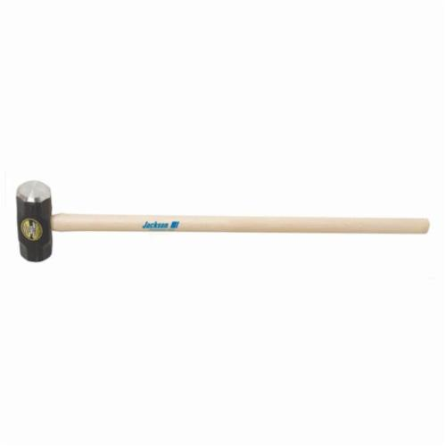 Jackson® 1199400 Sledge Hammer, 36 in OAL, 12 lb Forged Steel Head, Hickory Wood Handle