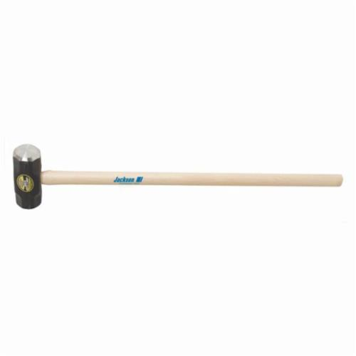 Jackson® 1199700 Sledge Hammer, 36 in OAL, 16 lb Forged Steel Head, Hickory Wood Handle