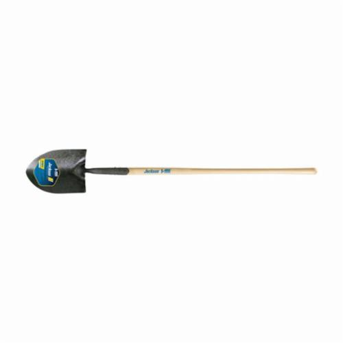 Jackson® 1201900 J-450 Commercial Grade Round Point Pony Shovel, 47 in Handle Length, Hardwood Handle