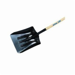Jackson® 1327800 Kodiak J-250 Coal/Street Shovel, 51 in L Handle, Tempered Steel Blade, Hardwood Handle