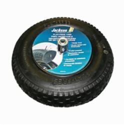 Jackson® FFTKBCC Flat Free Wheelbarrow Tire, Knobby, 16 in Dia Tire Rim, Rubber