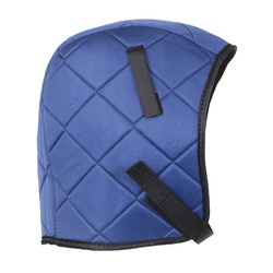 Jackson Safety* 14502 225 Plus Over-The-Head Winter Liner, For Use With Under Caps and Hats, Nylon/Fleece, Blue