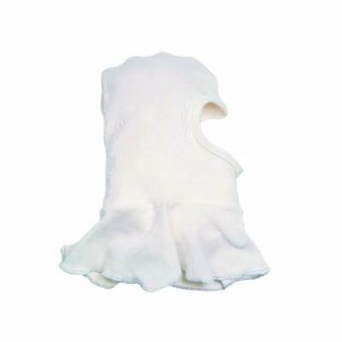 Jackson Safety* 14504 Hooded Winter Liner, For Use With Hard Hats and Welding Helmets, Nomex®, White