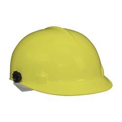 Jackson Safety* 14809 C10 Lightweight Bump Cap, Yellow, HDPE, 4-Point Pinlock Suspension