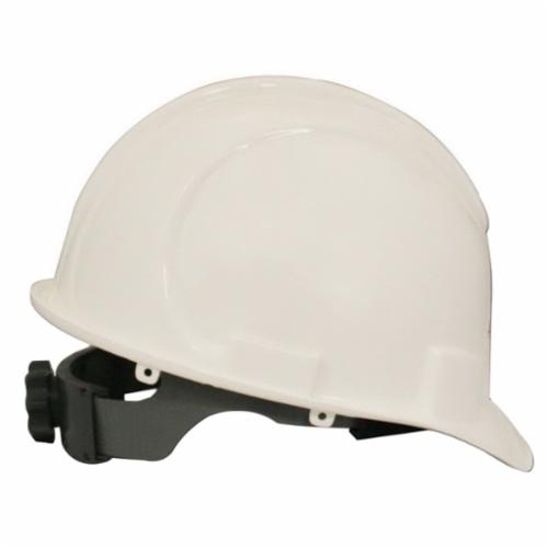 Jackson Safety* 20392 CHARGER* Cap Style Hard Hat, SZ 6-1/2 Fits Mini Hat, SZ 8 Fits Max Hat, HDPE, 4-Point Suspension, ANSI Electrical Class Rating: Class C, E and G, ANSI Impact Rating: Type I, Ratchet Adjustment