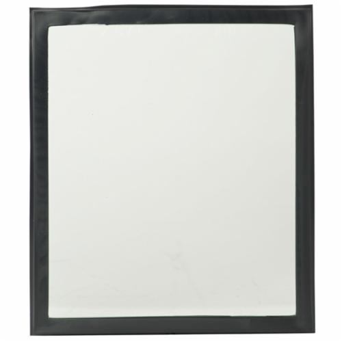 Jackson Safety* 16047 Internal Auto-Darkening Filter Plate, Clear, Polycarbonate, 4.2 in H x 2-1/2 in W x 1/4 in THK Window