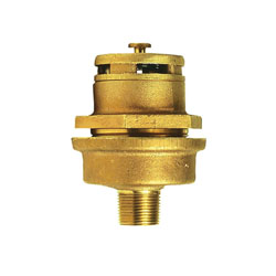 Justrite® 08102 Vertical Drum Vent Assembly, For Use With 3/4 in DN20 Bung, Brass, Brass
