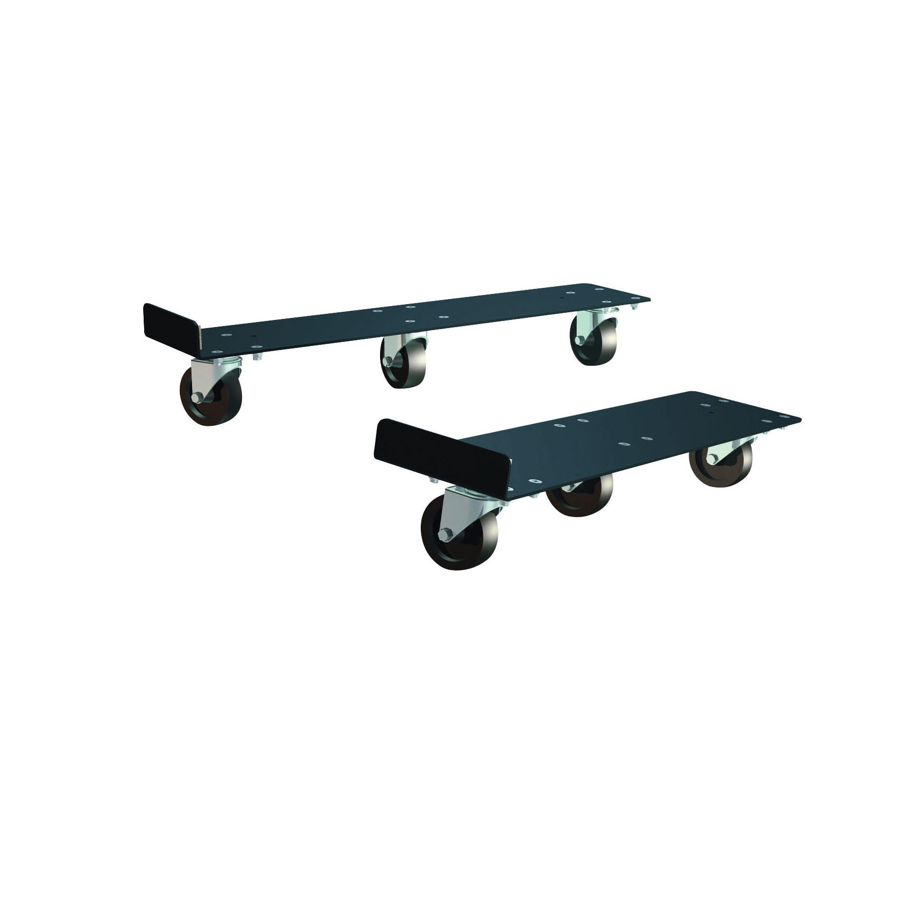 Justrite® 22638 Cabinet Mover, For Use With 30 and 45 gal 30 min/90 min Safety Cabinet, Black