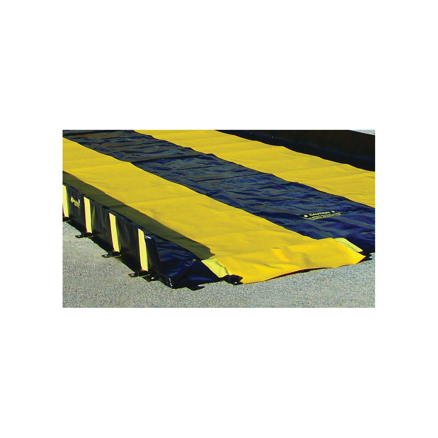Justrite® 28334 Track Runner, 6 ft L x 3 ft W, PVC Coated Fabric