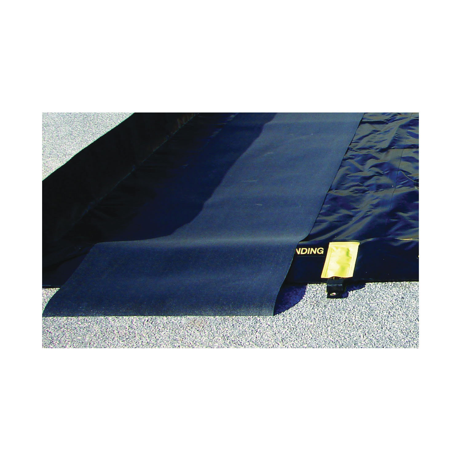 Justrite® 28336 Track Mat, 6 ft L x 3 ft W, PVC Coated Woven Fabric