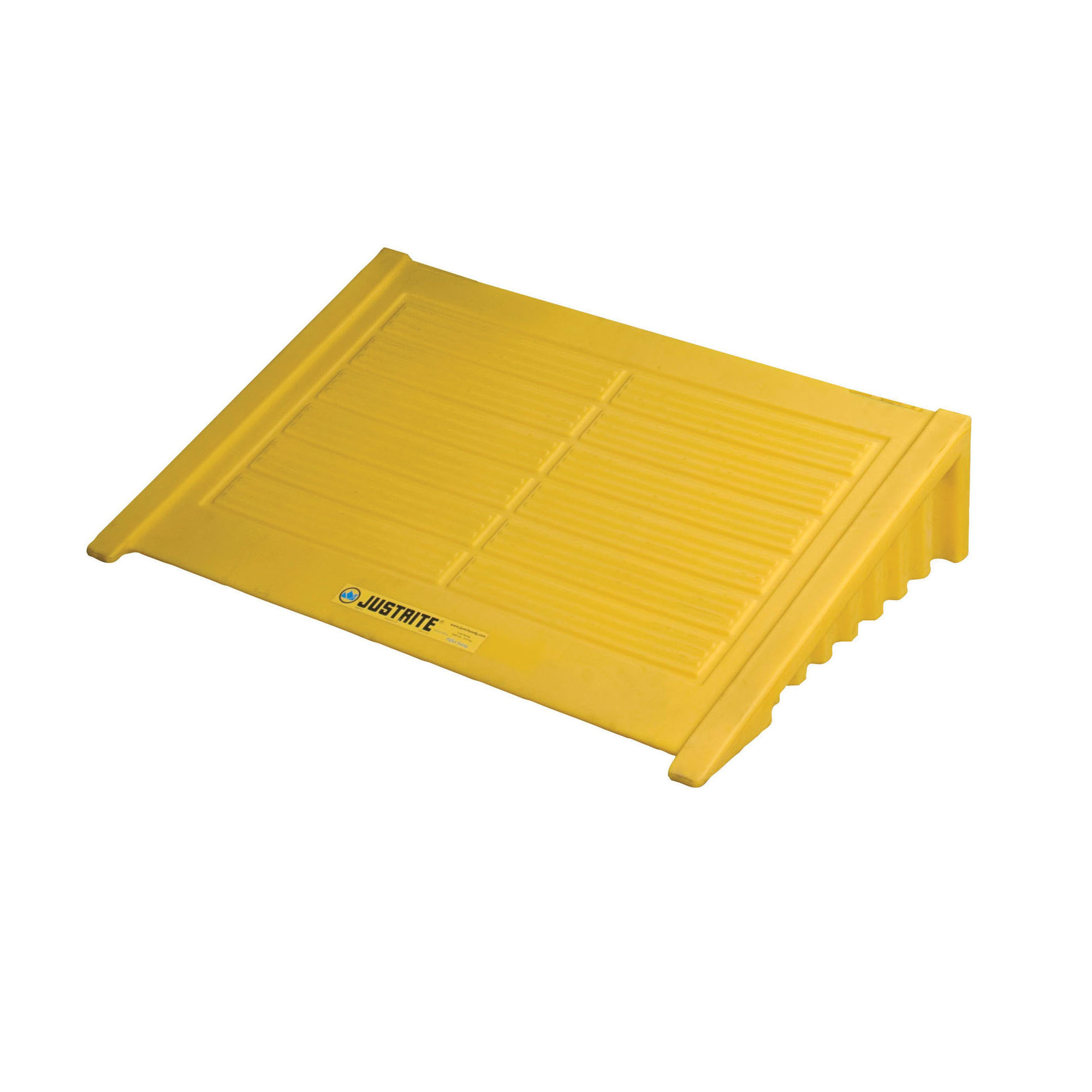 Justrite® 28620 Spill Pallet Ramp, 33 in L x 49 in W x 10-1/2 in H, 1000 lb Load, 35% Recycled Polyethylene