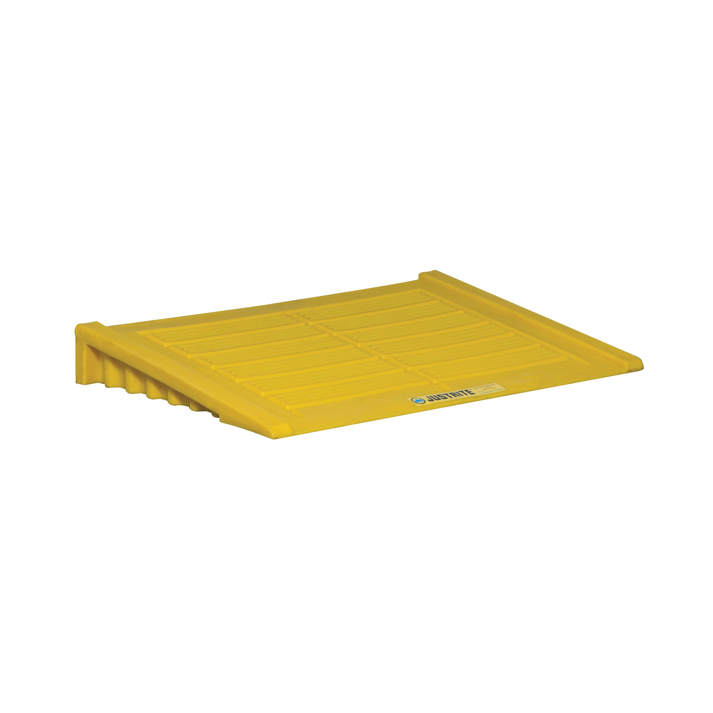 Justrite® 28650 Accumulation Center Ramp, 33 in L x 48 in W x 6-1/4 in H, 1000 lb Load, 45% Recycled Polyethylene