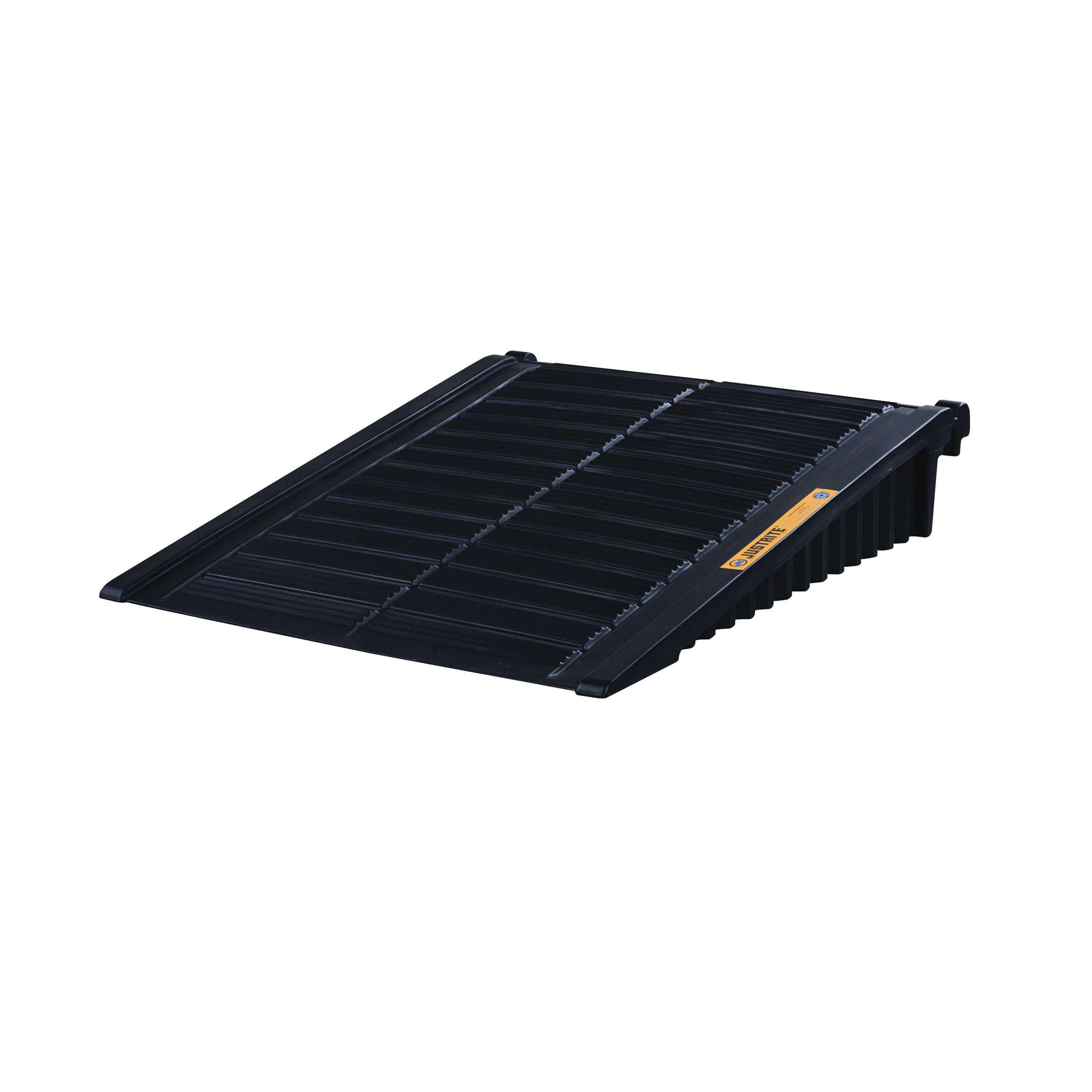 Justrite® 28679 Drum Storage Unit Ramp, 48 in L x 59-3/4 in W x 11-1/4 in H, 1000 lb Load, Recycled Polyethylene