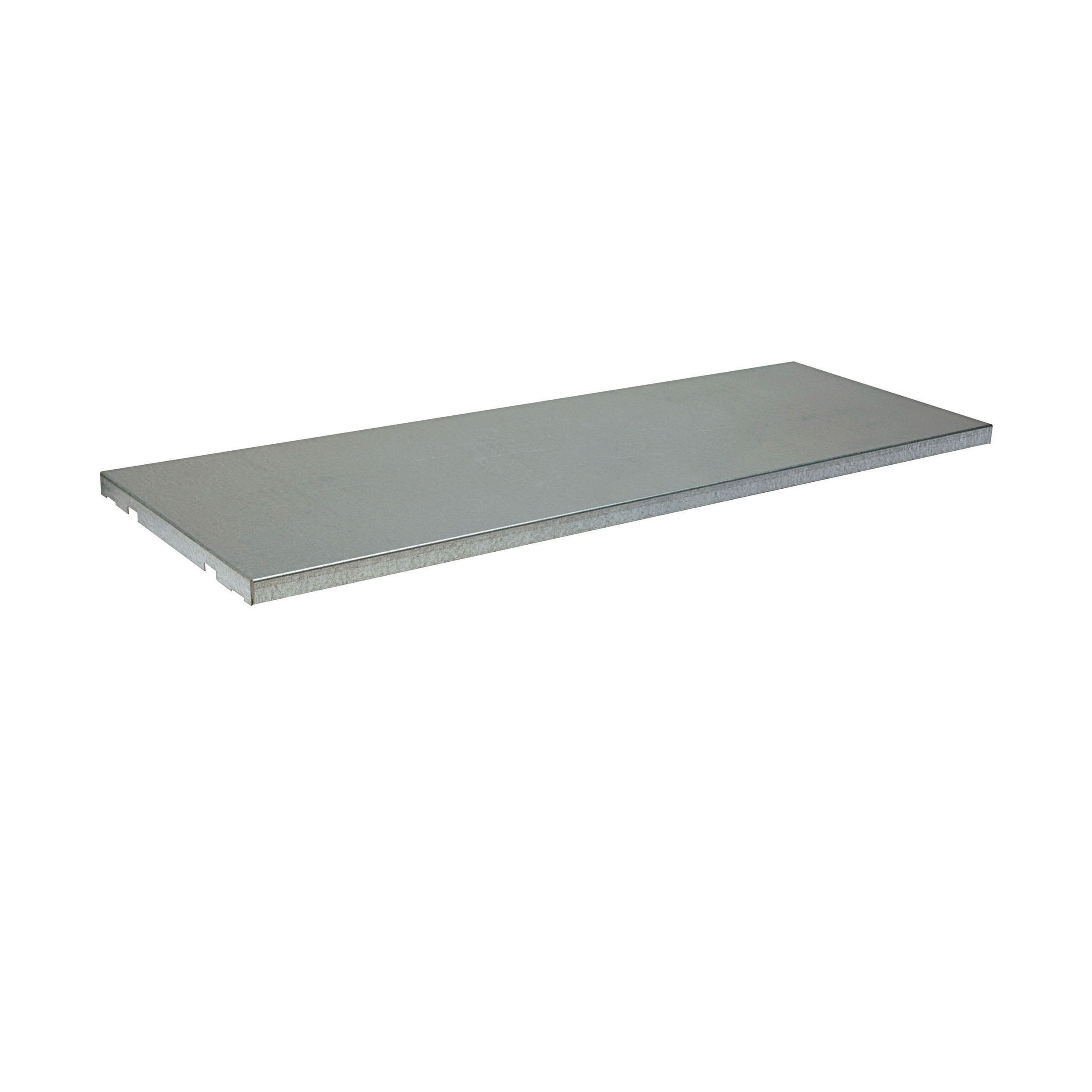 Justrite® SpillSlope® 29939 Shelf, For Use With 22 gal Undercounter Safety Cabinets, Silver