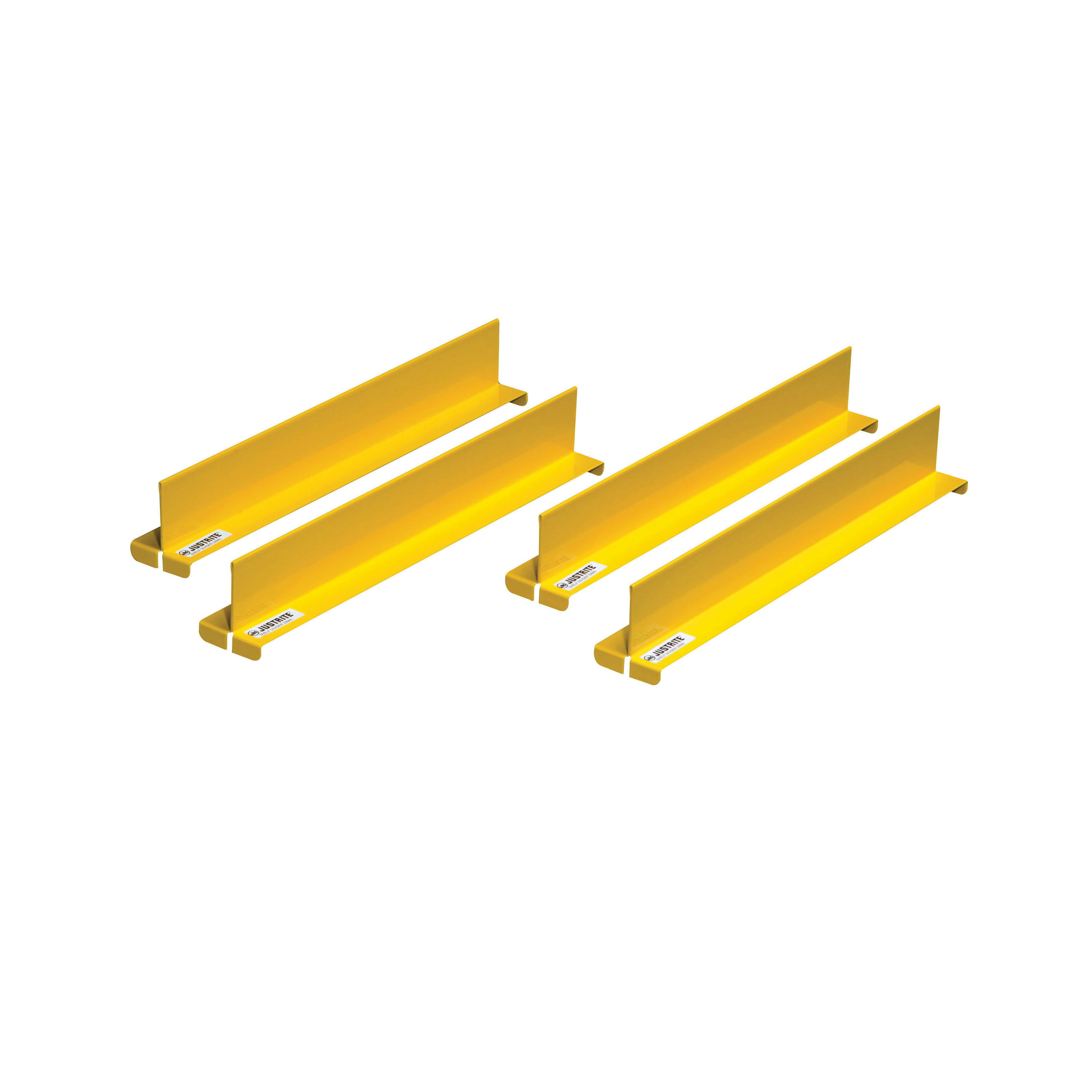 Justrite® 29985 Shelf Divider, For Use With 15 gal Compact, 22 gal Slimline and 17 gal Piggyback Cabinets, Yellow