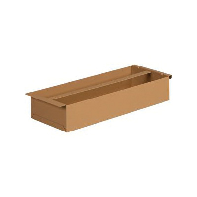 KNAACK® 21 Tool Tray, For Use With Model 2472, 4824, 60 Chest box, Steel, Tan