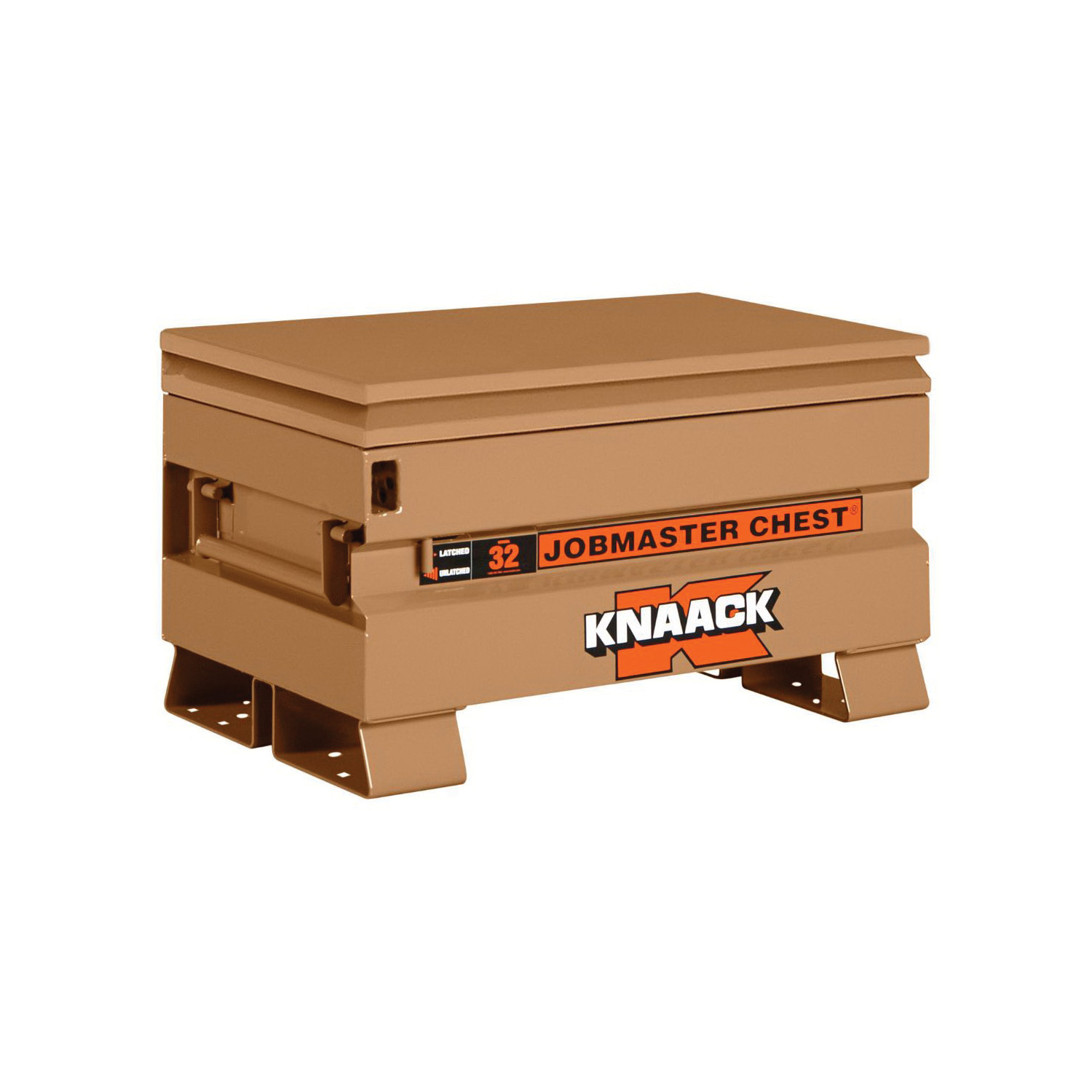 KNAACK® JOBMASTER® 32 Chest Box, 18-1/2 in x 19 in W x 32 in D, 5 cu-ft Storage, Steel