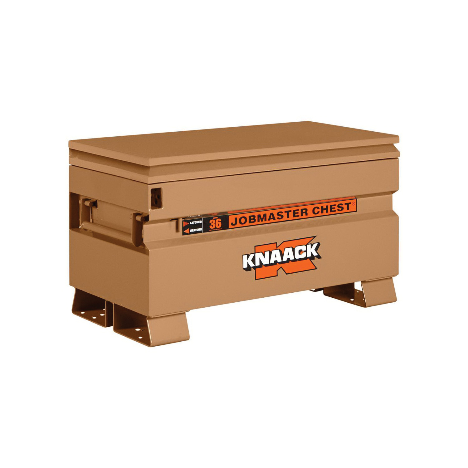 KNAACK® JOBMASTER® 36 Chest Box, 21-1/2 in x 19 in W x 36 in D, 7 cu-ft Storage, Steel