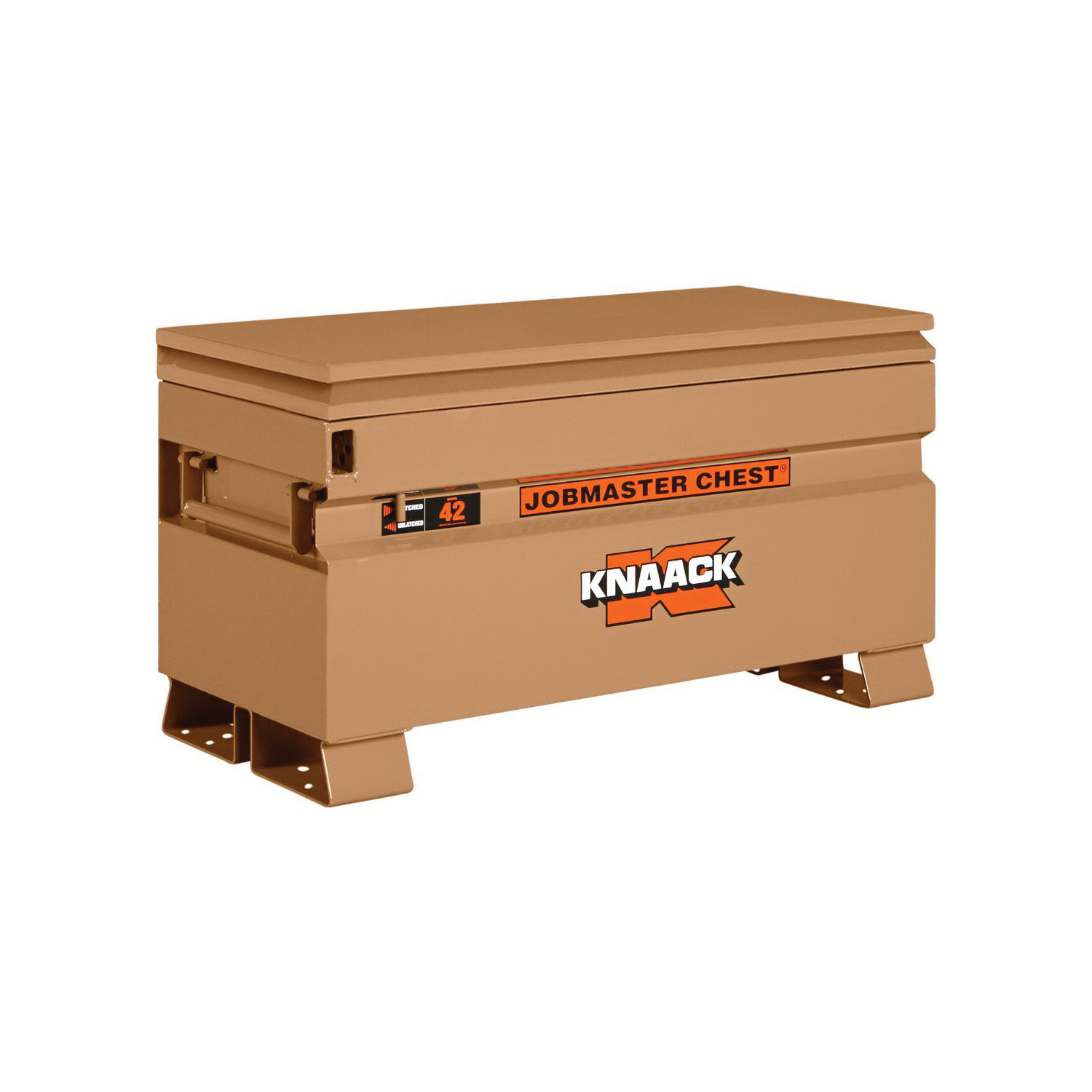 KNAACK® JOBMASTER® 42 Chest Box, 23-3/8 in x 19 in W x 42 in D, 9 cu-ft Storage, Steel