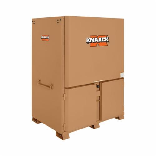 KNAACK® 119-01 DataVault™ Field Station, 60 in L x 44 in W x 82-1/4 in H, Tan