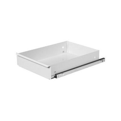 KNAACK® 474-3 Standard Deep Drawer, 100 lb Load Capacity, For Use With Model 47 and 57 Rolling Work Bench, Steel, White
