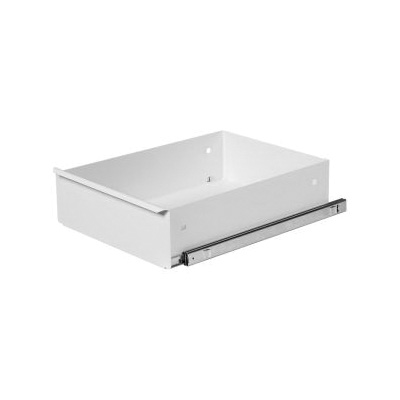 KNAACK® 476-3 Standard Deep Drawer, 100 lb Load Capacity, For Use With Model 47 Rolling Work Bench, Steel, White