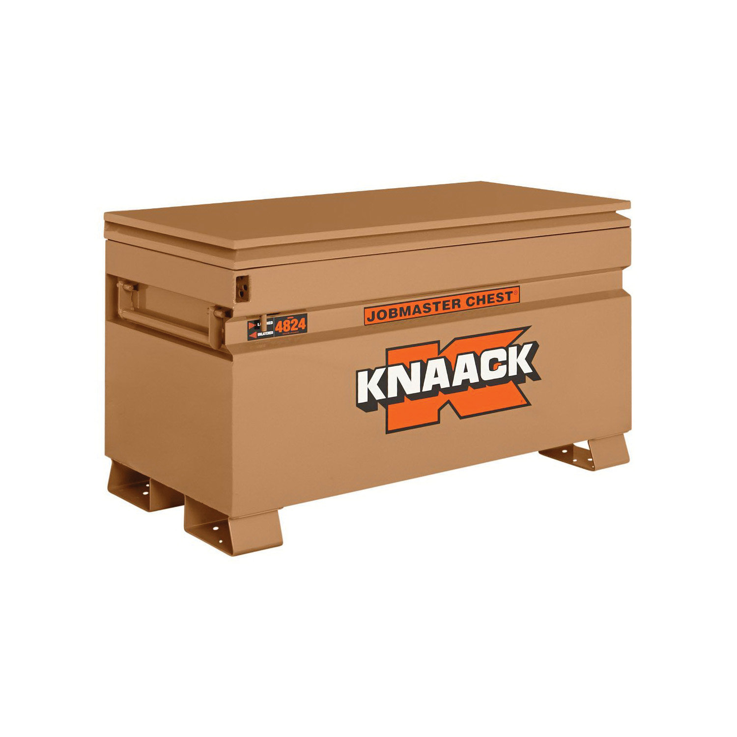 KNAACK® JOBMASTER® 4824 Chest Box, 28-1/4 in x 24 in W x 48 in D, 16 cu-ft Storage, Steel