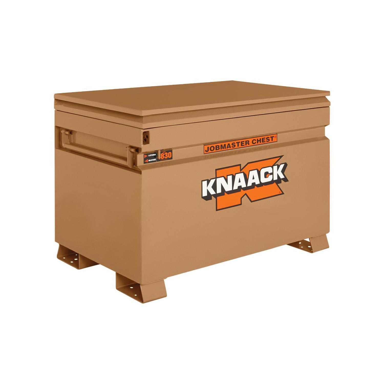 KNAACK® JOBMASTER® 4830 Chest Box, 34-1/4 in x 30 in W x 48 in D, 25.25 cu-ft Storage, Steel