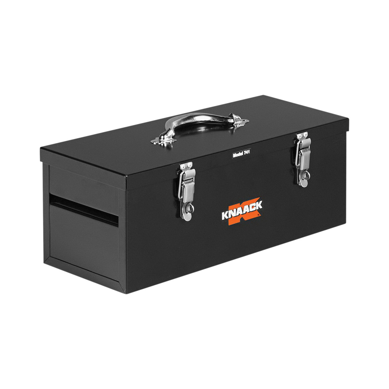 KNAACK® 741 Hand Tool Box, 8 in x 8 in W x 20 in D, 0.75 cu-ft Storage, Steel