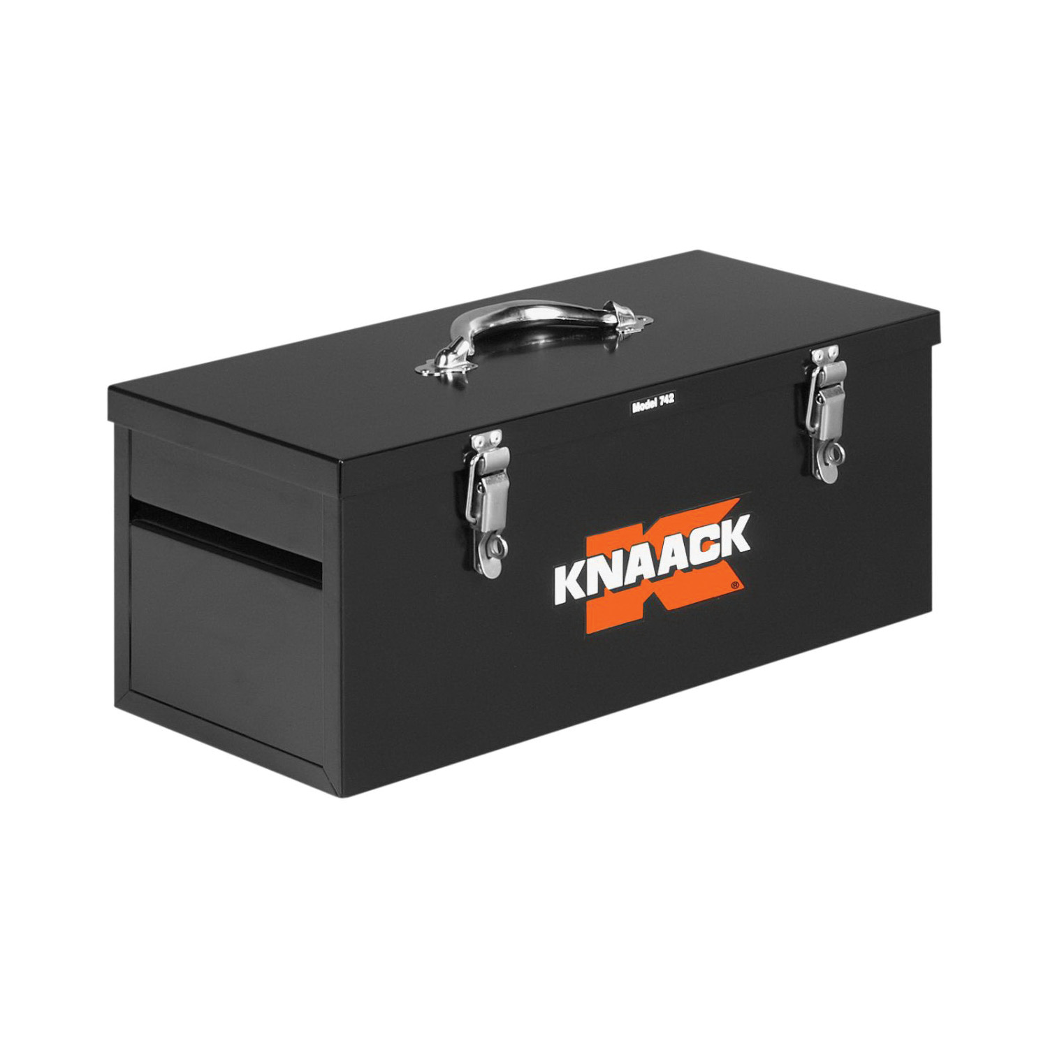 KNAACK® 742 Hand Tool Box, 9 in x 9 in W x 22 in D, 1 cu-ft Storage, Steel