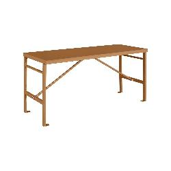 KNAACK® R-72 Portable Work Table, 36 in H x 27-1/2 in W x 71-1/2 in D, 750 lb Load, Tan