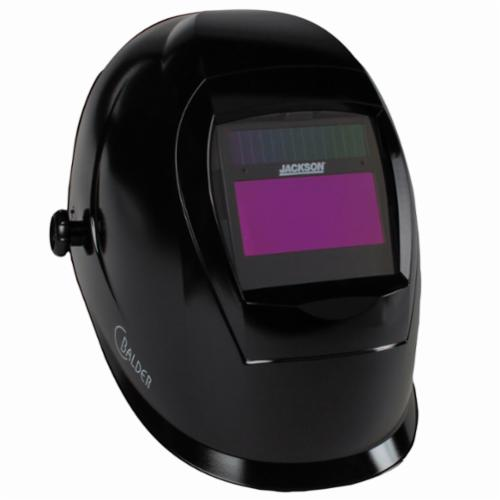 Kimberly-Clark* SmarTiGer® 37188 W40 Lightweight Welding Helmet With Balder* Technology, 9 to 13 Lens Shade, Black, 3.78 x 1.81 in Viewing Area, Aerodynamic Shell, Specifications Met: ANSI Z87.1:2010, CE Certified