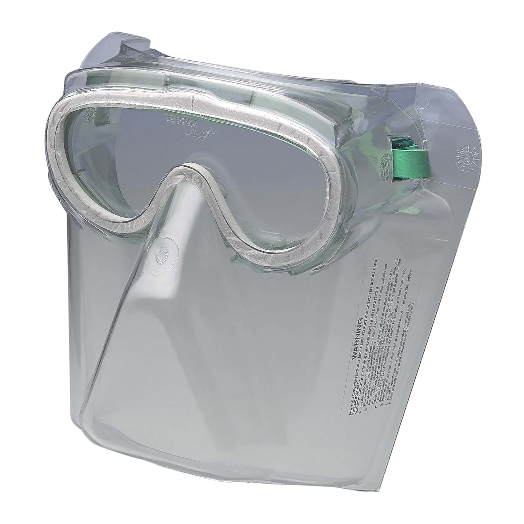 KleenGuard™ 16671 V90 Safety Goggles Shield, 8 in H x 6-1/2 in W, Clear, Polycarbonate Glass