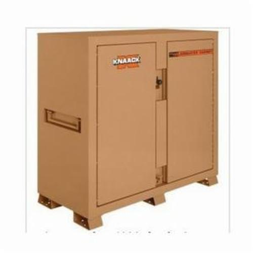 KNAACK® Jobmaster® 112 Shelf Cabinet, 60 in L x 30 in W x 60 in H, 3 Shelves, Tan