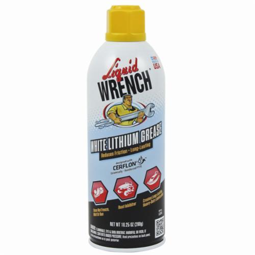 Liquid Wrench® CERFLON® L616 Grease, 10.25 oz Aerosol Can, Aerosal Spray Form, White